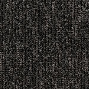 Teppichboden, Auslegware, Meterware, 500 cm x 150 cm, anthrazit, Schlinge