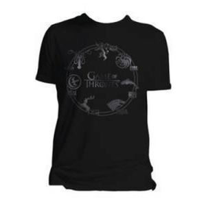 Game of Thrones T-Shirt Houses Größe S