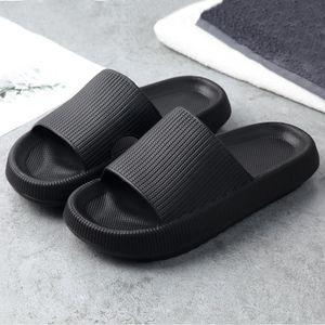 Sandalen & Slides für Damen 39 , Schwarz, Pantoletten für Damen, Hausschuhe Sommer Sandalen, Anti-Rutsch Badeschlappen schnell Trocknende, Verdickte, rutschfeste Sandalen