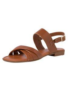 Marco Tozzi Damen Sandale braun 2-2-28156-36 F-Weite Größe: 41 EU