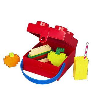 LEGO - Lunchbox mit Griff rot/blau