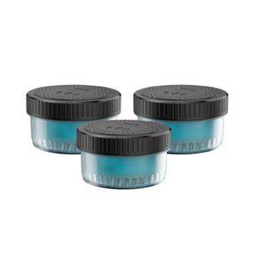 PHILIPS CC13/50 Reinigungskartuschen 3er Set für Quick Clean Reinigungsstation, Farbe:Blau
