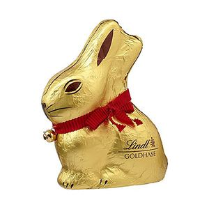 Lindt Goldhase aus Alpenmilch Schokolade 200g 3er Pack Hohlfigur