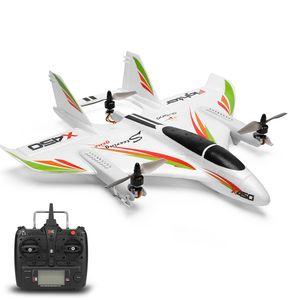 WLtoys XK X450 RC Flugzeug RC Segelflugzeug Starrflš¹gelflugzeug mit 3 Modellen 2.4G 6CH 3D / 6G RC Hubschrauber Vertikaler Start RTF