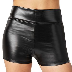 dressforfun Metallic-hotpants - schwarz, XL