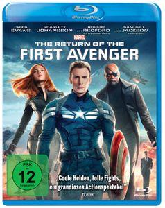 The Return of the First Avenger BluRay