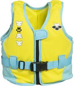 arena Friends Schwimmweste Kinder yellow Größe 4-6Y