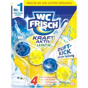 WC Frisch Kraft-Aktiv WC-Reiniger Lemon 50g