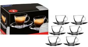Ritzenhoff & Breker je 6 Stück Espressotassen + Unterteller Assam R&B (12 Teile Set)