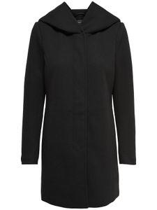 Only Damen-Woll-Mantel onlSedona Light Coat Otw 15142911, Größe:L, Farbe:Schwarz
