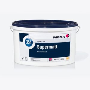MEGA 354 Supermatt 5 Liter weiß