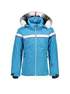 CMP Skijacke für Mädchen M713 BLUE JEWEL 176
