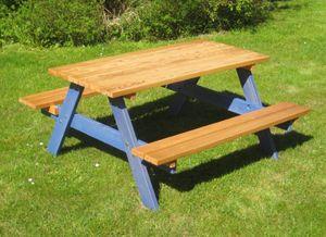Kinderpicknick-Sitzgruppe, Sitzhöhe 34cm
