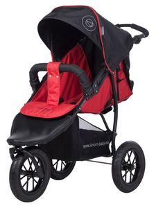 knorr-baby Dreirad Joggy S Happy Colour rot mit Lufträdern  - 883530