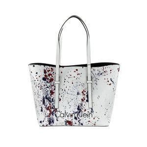Calvin Klein tasche Donna Misura Media Weiß Einheitsgröße