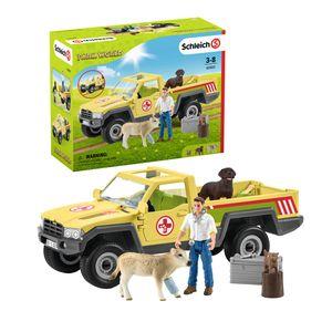 Tierarztbesuch auf dem Bauernhof
