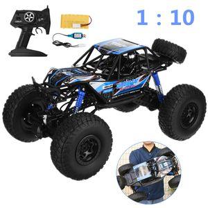 1:10 RC 48cm Bugy ferngesteuertes Auto 4WD Allrad Monster Truck 2,4GHz Off-Road-blau