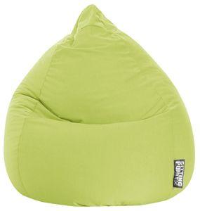 Sitzsack BeanBag Easy XL 110 x 70 cm,  Grün