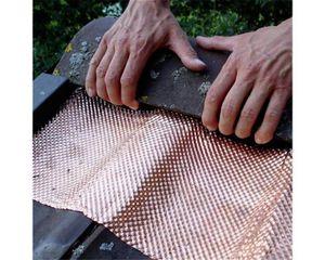 Unimag Dachschutz / Moos-Ex Kupfer mit vollflächiger Butylbeschichtung 3,5 x 200 x 5000 mm