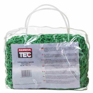 REWWER-TEC 956-179 Ladungssicherungsnetz 2,0x3,0 35mm Masche, grün