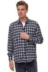 Herren Flanell Hemd Kariertes Holzfäller Herrenshirt Langarm Karohemd Vintage , Farben:Braun, Größe Hemd:XL