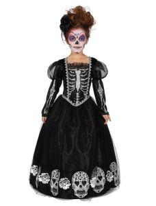 Kostüm Kleid dunkle Prinzessin Kinder Größe: 152