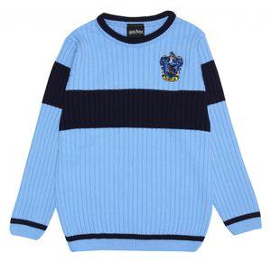 Harry Potter - Quidditch Pullover für Mädchen PG653 (140) (Blau)