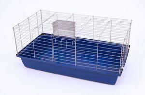 XXL Meerschweinchenkäfig Hasenkäfig Nagerkäfig  1,00 M