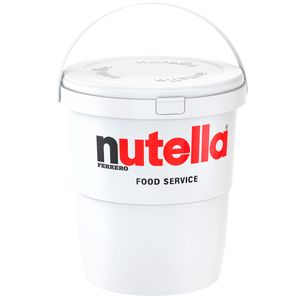 Ferrero Nutella im XL Kunststoffeimer mit praktischem Tragegriff 3kg