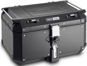 GiVi Alu-Topcase schwarz Trekker Outback Monokey 58 Liter / Max Zuladung 10 kg