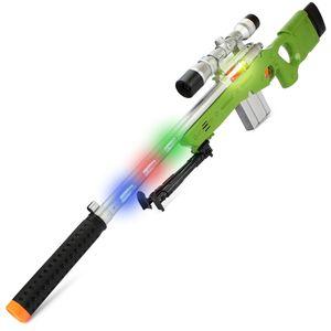 AWP Gewehr AW338 | 84cm Sniper Scharfschützengewehr | Mit LED Sound & Vibration