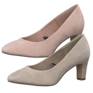 Tamaris Damen Schuhe Pumps Blockabsatz 1-22418-26, Größe:41 EU, Farbe:Rosa