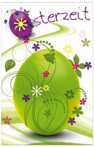 "SUSY CARD Oster-Grußkarte ""Osterei"" grüner Umschlag"