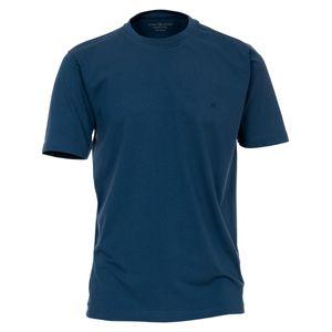 CasaModa Basic T-Shirt indigoblau Übergröße, Größe:5XL
