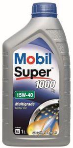 1 Liter MOBIL 15W-40 Super 1000 X1 ACEA A3/B3 API SL API SM API SJ API SN API SN PLUS MB 229.1