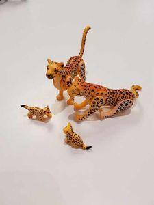 PLAYMOBIL Leopardenfamilie Spielfiguren Zubehör Ergänzung Zoo Safari 6539