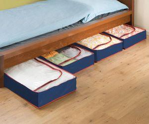 Unterbettkommode Aufbewahrungstasche 4er Set Boxen
