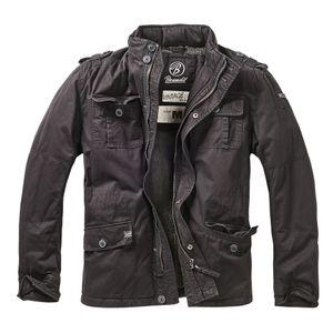 Brandit - Britannia Winter Jacket 9390-2 Black Outdoor Winterjacke Herren Army Größe XXL