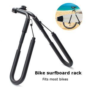 Geepro Surfbrett Fahrrad Halter Träger Fahrradgepäckträger Surfboard Fahrradhalterung