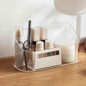 Kosmetik Organizer Aufbewahrungsbox für Make-up, Nagellack und Beautyprodukte die ideale Schminkaufbewahrung transparent