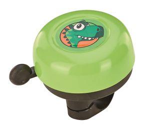 Prophete 5028 Kinder Fahrradglocke / Klingel - grün mit Dino-Motiv