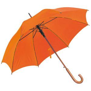 Automatik-Regenschirm / Farbe: orange