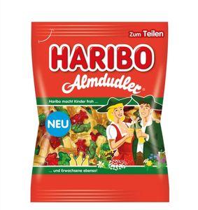 Haribo Almdudler  175g  Fruchtgummi mit Kräuter-, Himbeer- und Holundergeschmack
