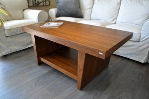 Design Couchtisch Tisch T-111 Nussbaum / Walnuss Carl Svensson