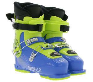 DALBELLO CX 3.0 JR GW Kinder Ski-Stiefel robuste Skiboots Blau-Gelb, Größe:39 1/2