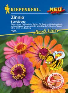 KIEPENKERL® Zinnien Bumblebee - Blumensamen