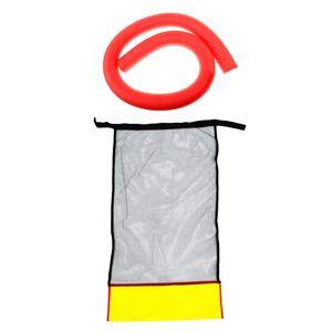 Wasser-Entspannungs-hohler Schaum-Nudel-Schwimmen-Sitz-Floss-Stuhl-Hängematte-Rot rot wie beschrieben