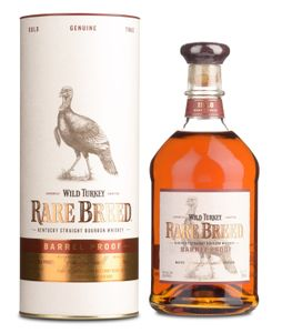 Wild Turkey Rare Breed Barrel Proof Kentucky Straight Bourbon Whiskey 0,7l 58,4 Vol.-%