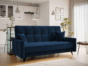 Mirjan24 Schlafsofa Diego, Sofa mit Bettkasten und Schlaffunktion, Polstersofa, Wohnzimmermöbel (Farbe: Kronos 09)