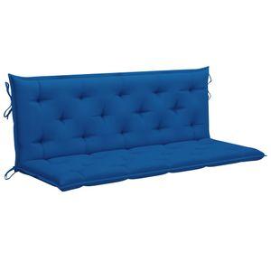 Auflage für Hollywoodschaukel Blau 150 cm Stoff